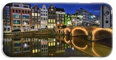 iPhone Cases - Reflections iPhone Case by Nadia Sanowar