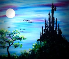 Hey! Check out Hilltop Castle at Champions World Resort-Kissimmee - Paint Nite