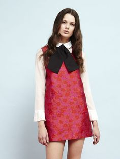 Candy Apple Pinafore Dress