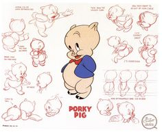looney tunes model sheets - Google Search