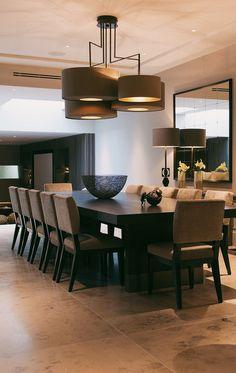 Luxury Dining Room, Dining Room Design, Dining Area, Dream Home Design, Modern House Design, Home Interior Design, Best Flooring For Kitchen, Floors Kitchen, Kitchen Dining