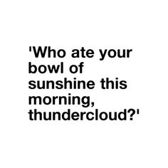 look up, thundercloud, the soon will sun shine. wait, that's not right ❤ liked on Polyvore