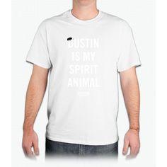 Dustin Is My Spirit Animal Stranger Things - Mens T-Shirt