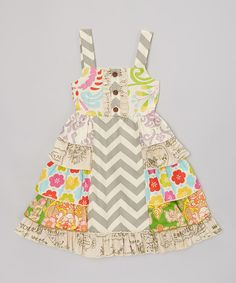 Look at this Gray Juliet Dress - Infant, Toddler & Girls on #zulily today!
