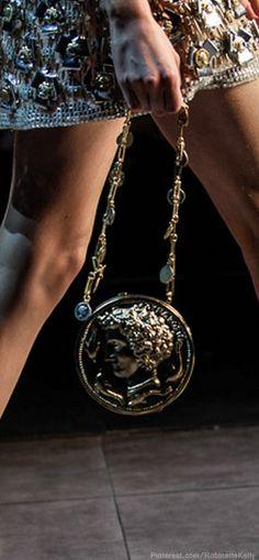Coin purse mixed with mettalics.   #karastyleswardrobestylist karastyles.com