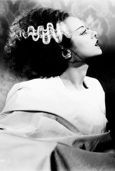 vintagegal:  Elsa Lanchester in a publicity photo for The Bride of Frankenstein (1935)
