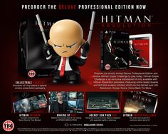 Hitman Absolution Deluxe Professional Edition for PlayStation 3 at GAME