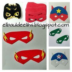Máscaras goma eva