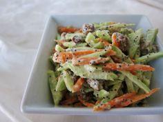 Sweet Broccoli Slaw - Vegan dressing