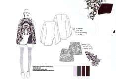 Fashion Portfolio - fashion drawings; fashion sketchbook // Shima Khanom