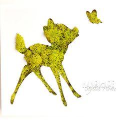 moss art bambi wall decor reindeer moss by HandmadeStylishHome Moss Wall Art, Moss Art, Wall Art Decor, Moss Graffiti, Biscuit, Moss Decor, Cool Shapes, Bambi, Good Vibes Only
