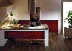 Hanssem KitchenBach 600 - Ruby Teak Kitchen Design