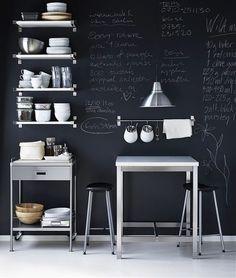 floor to ceiling chalkboard