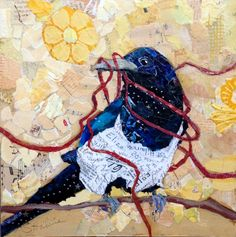 Nesting Magpie by Elizabeth St. Hilaire Nelson