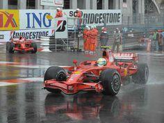 Monaco Monte Carlo Circuit - Race. Formula 1 2008