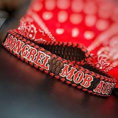 "CRIM WEAR CO. on Instagram: ""Custom handmade club belt, black snake skin with red and black braided edge... #crimwearco #leatherwear #leather #belt #leatherbelt #mob…"" Mongrel, Black Braids, Snake Skin, Belt, Club, Leather, How To Wear, Handmade, Instagram"