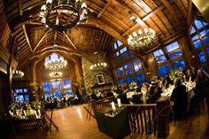 SaddleRidge dining room. Wedding venue in Beaver Creek, Colorado. #mountainweddings