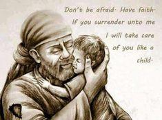 Surrendered to Sai. Sai takes care of my family and me! Sai Baba Pictures, God Pictures, Indian Spirituality, Sai Baba Quotes, Sai Baba Wallpapers, Swami Vivekananda Quotes, Sathya Sai Baba, Baba Image, Divine Mother