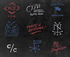 Icon design and branding elements for CXXVI Clothing Co.