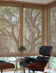 Roman shades never looked so good! And with Lutron, you get the convenience of automation, too.  www.automation-design.com