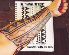 Filipino Tattoos Ancient to Modern tattoos armband for men ideas tattoos women for men on leg Polynesian Tattoos Women, Filipino Tribal Tattoos, Samoan Tattoo, Tribal Tattoo Designs, Armband Tattoo Design, Traditional Filipino Tattoo, Traditional Hand Tattoo, Filipino Art, Simple Hand Tattoos