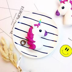 Kawaii Unicorn Emoji Portable Powerbank Charger Accessory for IOS