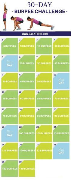 30 Day Burpee Challe | #lifeadvancer | @lifeadvancer