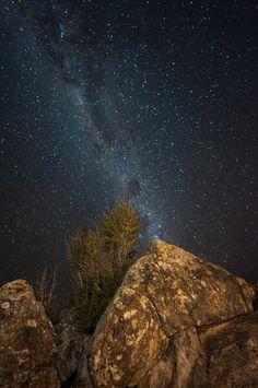 Drakensberg Nightfall at Giants Castle in the Drakensberg, KwaZulu-Natal. South Afrika, Old Oak Tree, Kwazulu Natal, Out Of Africa, Evening Sky, Stars At Night, African Safari, Color Of Life, Night Skies