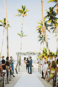 Beautiful Seaside destination wedding beach restaurant jellyfish punta cana {m + j} Punta Cana Wedding, Wedding Venues Beach, Beach Ceremony, Beach Weddings, Destination Weddings, Wedding Ceremony, Art Deco Wedding Favors, Wedding Decorations, Dominican Republic Wedding