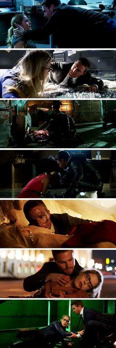 Oliver always protecting Felicity! #Olicity #Arrow #5x10 Arrow Felicity, Oliver And Felicity, Felicity Smoak, Stephen Amell Arrow, Arrow Oliver, Arrow Memes, Arrow Tv Series, Superhero Shows, Snowbarry