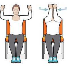 This full-body, sit-down workout is good for your heart and other muscles