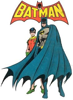 Just because the little guy LOVES Batman and Robin.