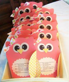 Owl Baby Shower Invitations | Nellies Nest: Little Owl Invites