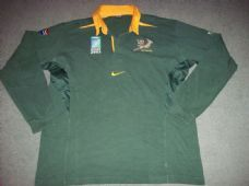 South Africa 2003 World Cup L S Adults Xxl Rugby Union Shirt Long