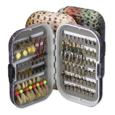 Just found this Foam Fly Box - Trout Skin Plastic Fly Box with Reference Foam -- Orvis on Orvis.com!