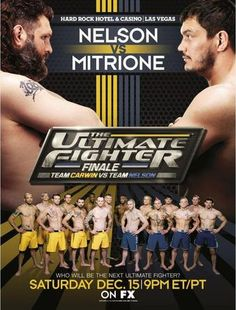 The Ultimate Fighter 16 Finale Ergebnisse - Results
