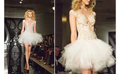 Wedding Dress Collection from Reem Acra, Spring 2014 with photos by Joy Marie Studios