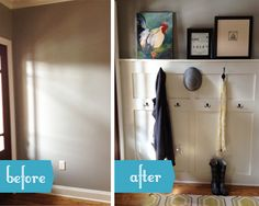 inkWELL Press: DIY: Entry Mud Room