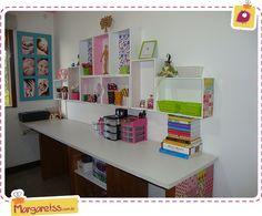 Amei a prateleira da @Margaret Santos Silva. Venha se inspirar  / Shelves / DIY / Organize / Reuse