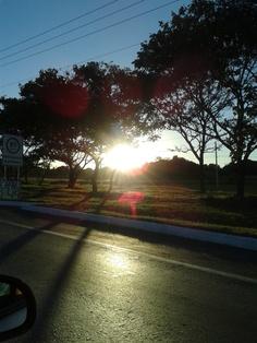 Acho linda essa foto que tirei voltando pra casa!!!