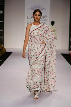 Shruti Sancheti Lakme Fashion Week S/R 2014