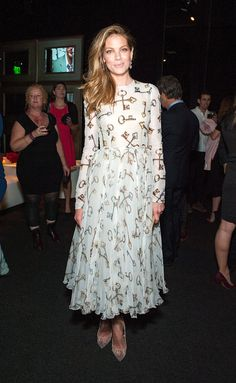 Michelle Monaghan in Dolce & Gabbana at The Academy of Motion Picture Arts and Sciences' Hollywood costume opening party.