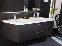 Find This Pin And More On Ideas Pictures Of Ikea Double Sink Bathroom