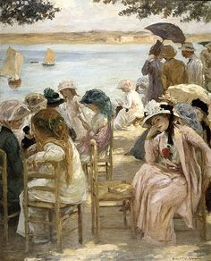 Artiste australien à Paris - Rupert Bunny (1864-1947) ~ Blog d'un admirateur Art