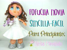 DIY - Cómo hacer Fofucha Novia Sencilla - Fácil - Para principiantes - #...