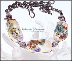 Handmade glass beads/jewelry by Deborah JLambson