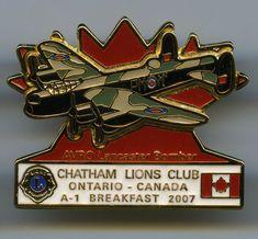 Lions Club - Chatham, Ontario - 2007 - Avro Lancaster Bomber