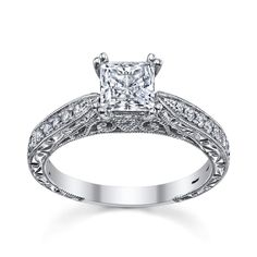 Princess Cut Engagement Rings Robbins 13