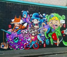 group collaboration in Melbourne (LP)