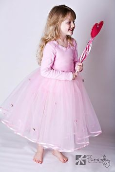 Pink Pretty As A Princess Ballet Length Tutu for Dress up COSTUME or BALLET or Photo Session on Etsy, $45.00
